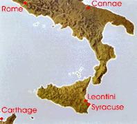 Рим, Карфаген и Сиракузы