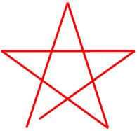Опознавательный знак (эмблема) тайного союза пифагорейцев